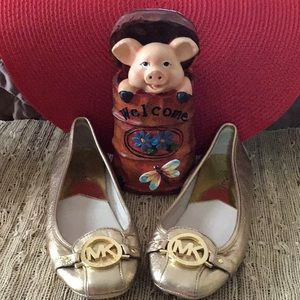 Michael Kors Fulton Moccasin Flats. Pre-owned